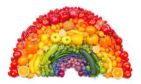 arcobaleno frutta e verdura